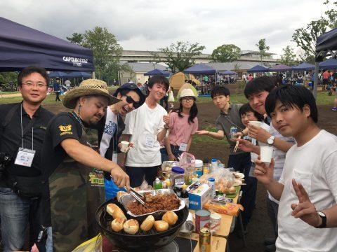 2019年6月23日 大学生歓迎BBQ